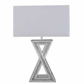Crushed Diamond Lamp X